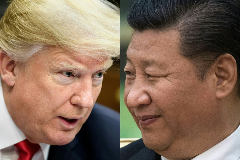 China's President Xi Jinping and US President Donald Trump are increasingly divided by the coronavirus pandemic