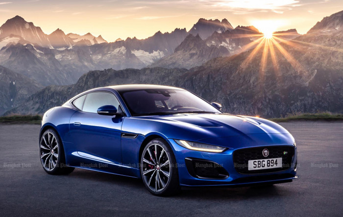 2020 Jaguar F-Type Coupe and Convertible facelift: Thai prices and specs