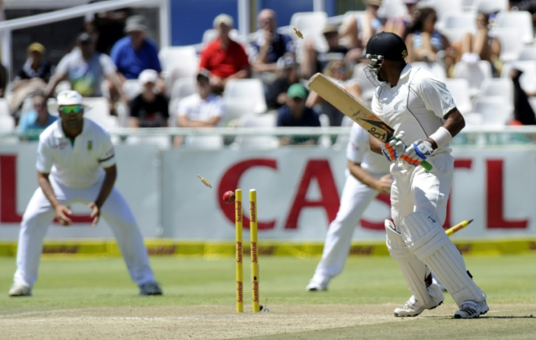 Even New Zealand's 45 all out in Cape Town in 2013 bettered the 1955 collapse