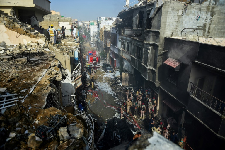 Mass Casualties Expected After Passenger Jet Crashes in Karachi, Pakistan