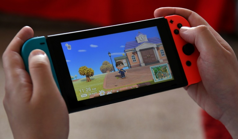 Games like Nintendo's Animal Crossing gained ground during the virus lockdowns, helping to fuel record sales in the sector in the United States, according a market trackers.
