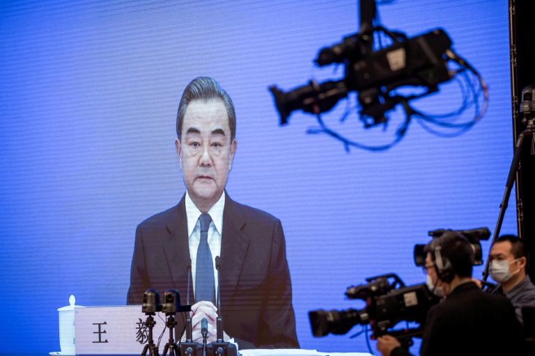 The Chinese Foreign Minister Wang Yi said the United States had been infected by a 'political virus' compelling figures there to continually attack China.