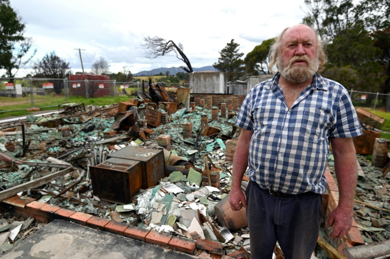 Wayne Keft, whose home was destroyed by the fires, says recovery has been 'slow and difficult' for many.