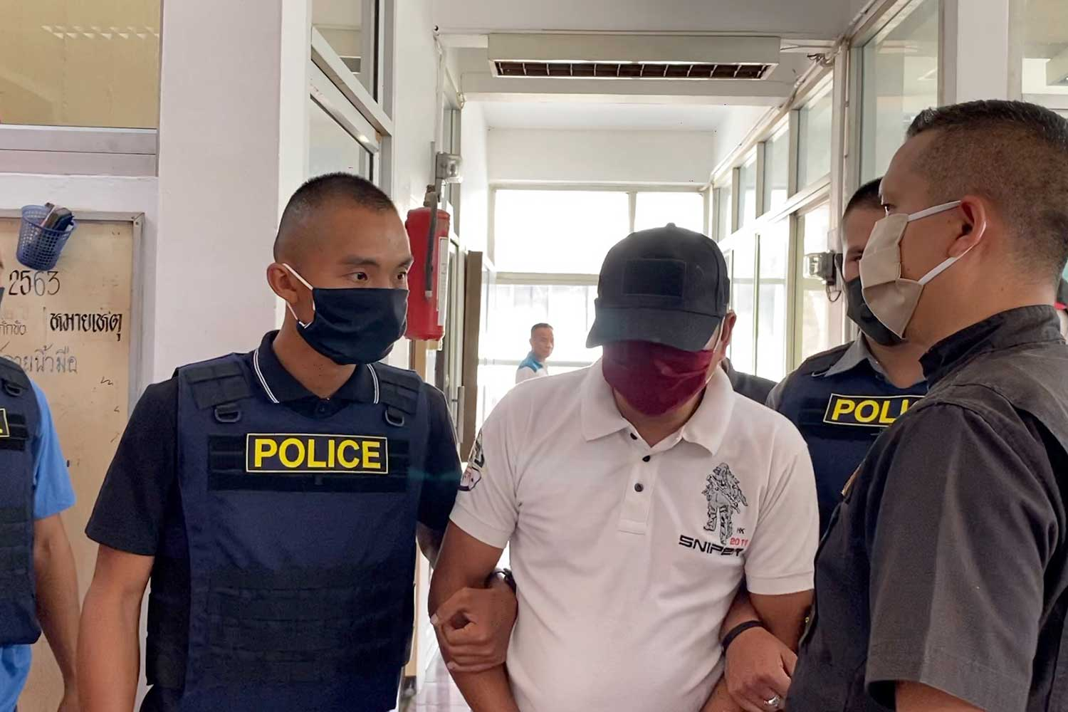 Drug courier caught making large delivery