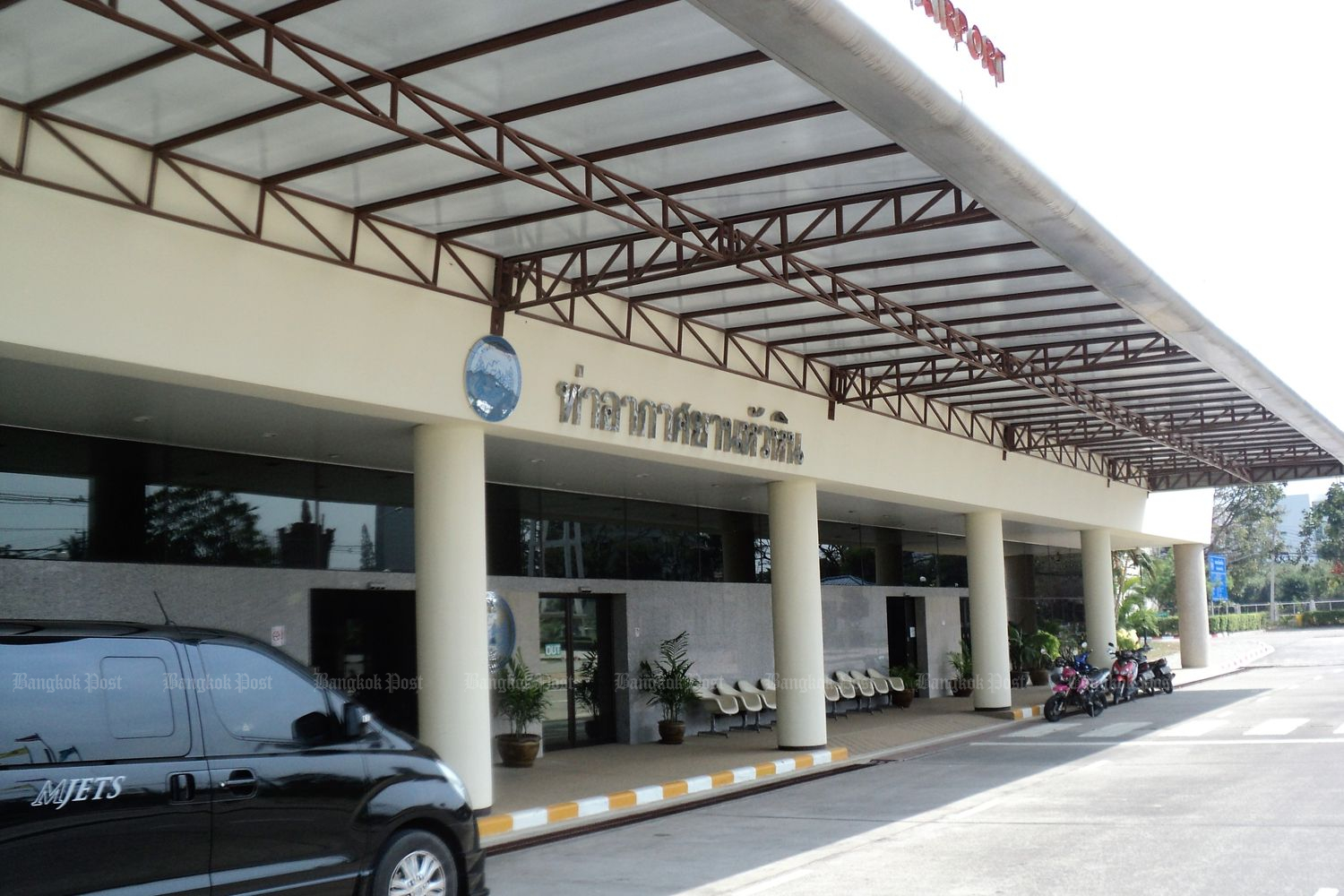 Hua Hin airport is one of the facilities currently managed by the Department of Airports. (Bangkok Post file photo)