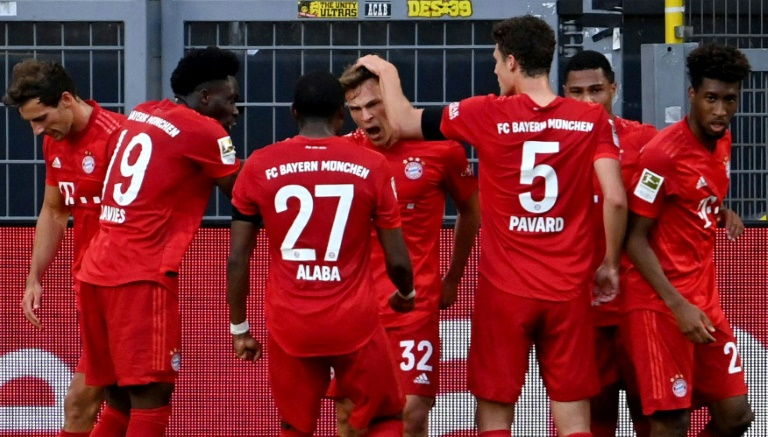 Bayern Munich Down Dortmund To Close On Bundesliga Title