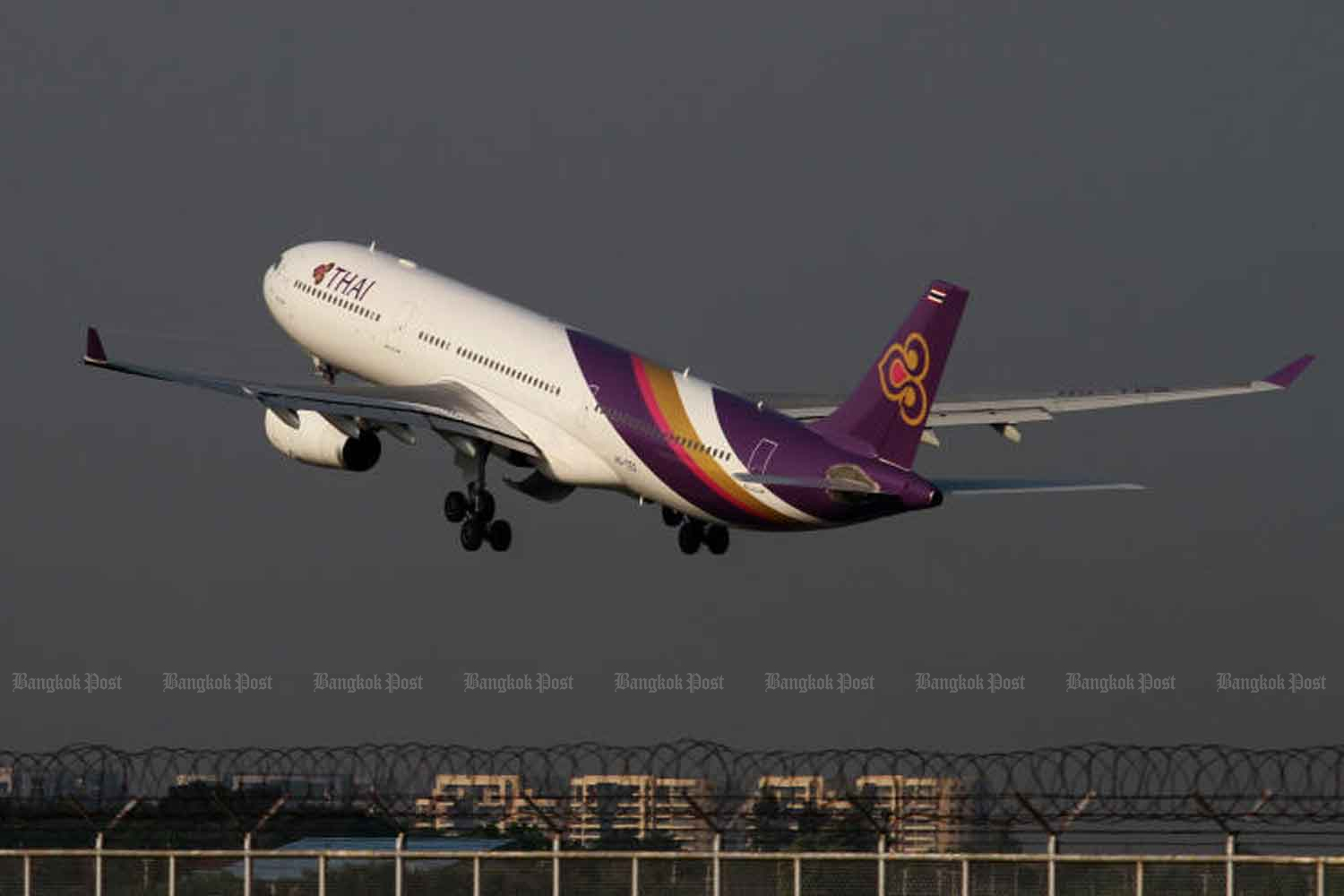 The Central Bankruptcy Court accepts a Thai Airways International debt rehabilitation petition on Wednesday. (Bangkok Post photo)