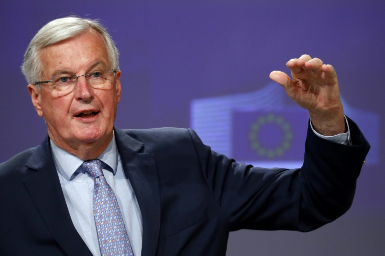 EU Brexit negotiator Michel Barnier says the UK will have to reveal its