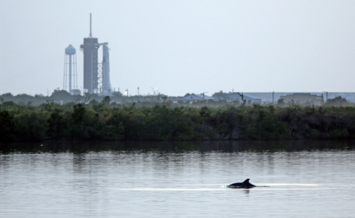 US space launch on schedule but weather uncertain