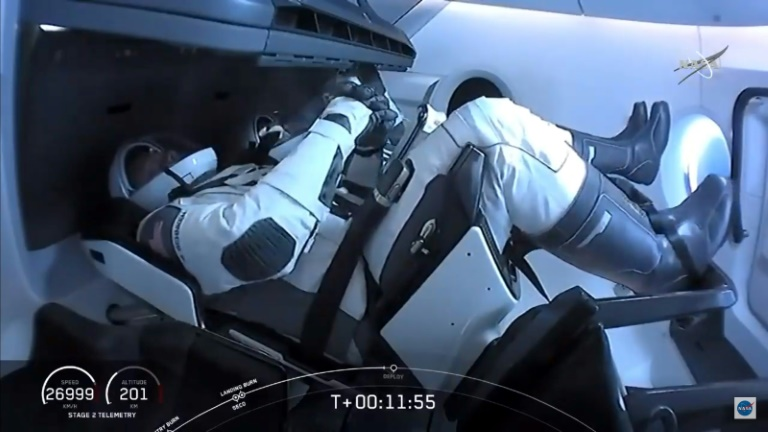 SpaceX capsule reaches International Space Station