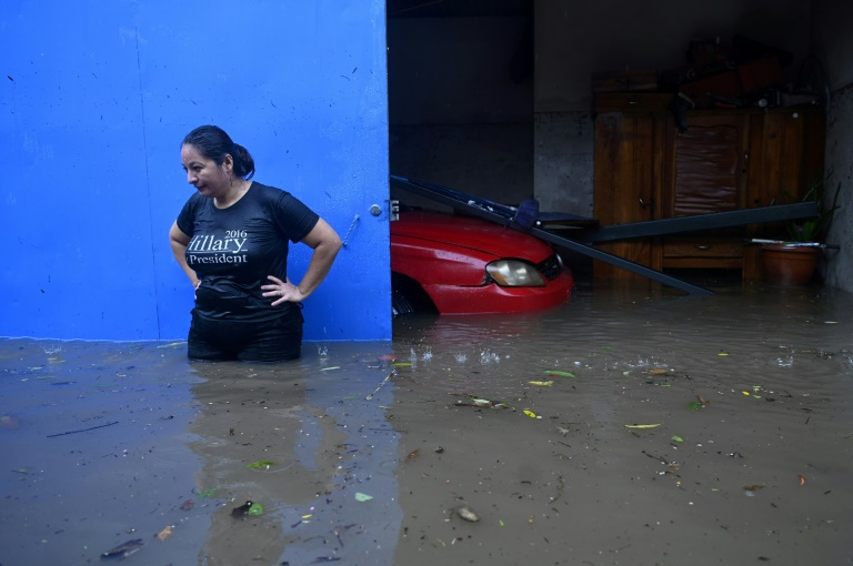 At least 10 people were killed when Tropical Storm Amanda struck El Salvador, unleashing heavy rain across the country including in the city of Ilopango