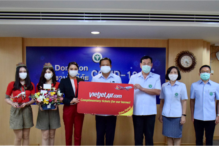 Thai Vietjet offers 1-year complimentary travel to medical staff