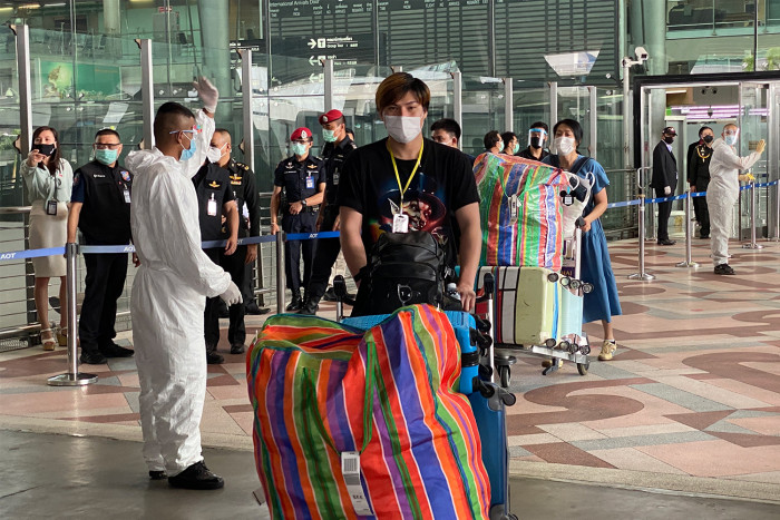 110 Thais fly home from Tokyo, 7 feverish
