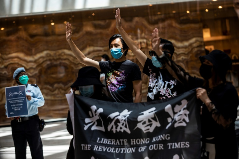 Semi-autonomous Hong Kong has been rocked by months of huge pro-democracy protests.