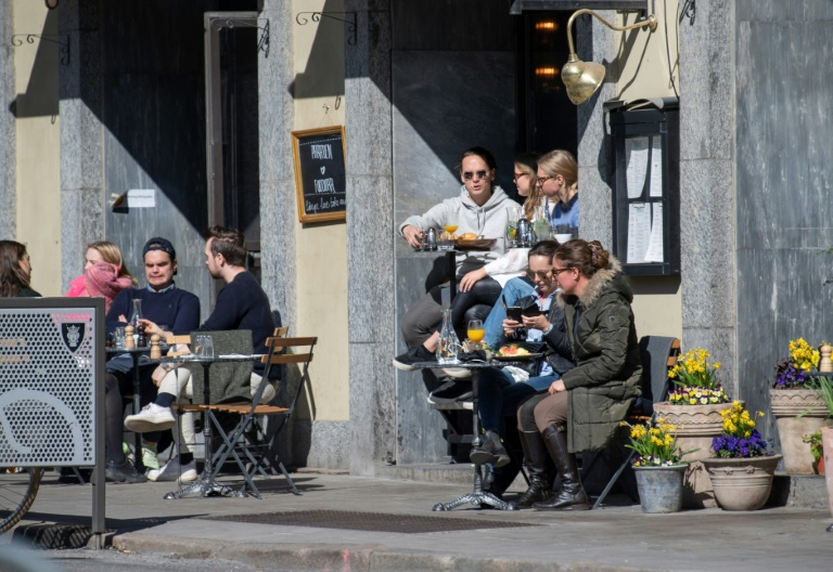 Most businesses have remained open in Sweden during the pandemic