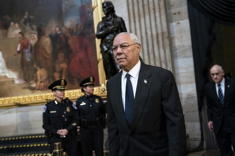 Trump calls Colin Powell a 'real stiff' after Biden endorsement