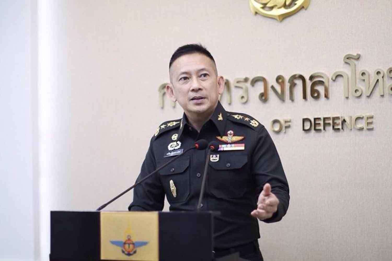 Defence Ministry spokesman Lt Gen Kongcheep Tantravanich.