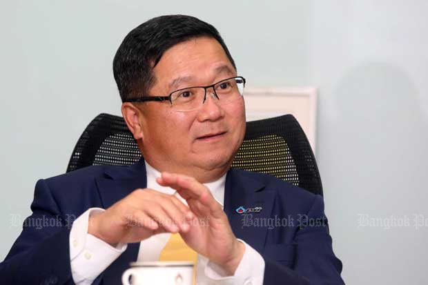 Chansin Treenuchagron, a former president of the state-owned oil and gas conglomerate PTT Plc, replaces Pailin Chuchottaworn who abruptly resigned late last month. (Post Today photo)