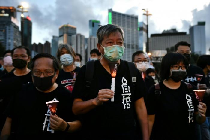 Hong Kong Tiananmen activist says locked out of Zoom