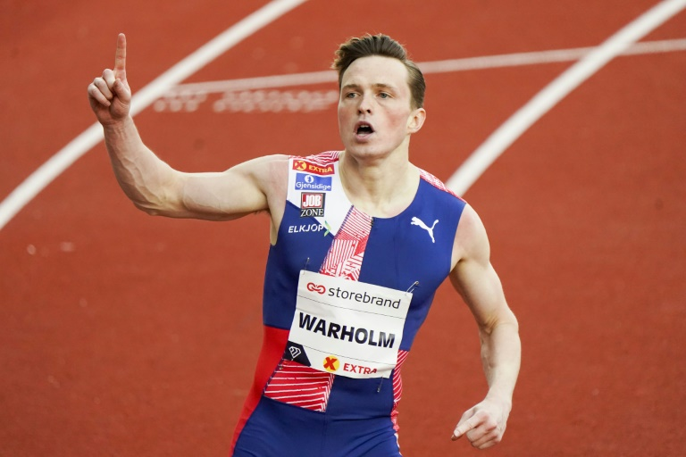 Warholm stars as athletics returns to Oslo via French garden and ...