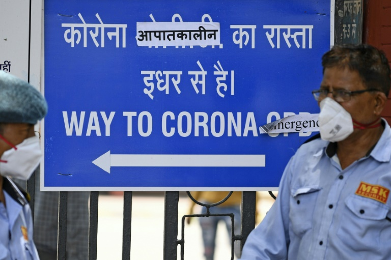 Hospitals in Delhi are full, mortuaries are overflowing with bodies and cemeteries and crematorium staff say they cannot keep up with the backlog of coronavirus victims.
