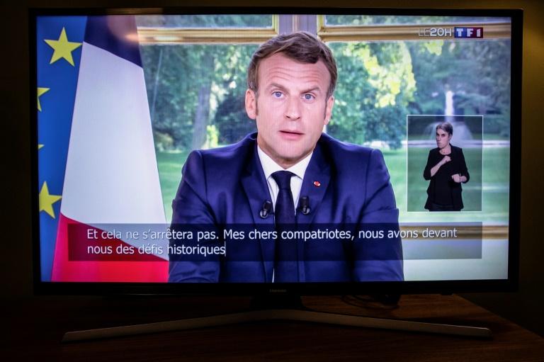 Macrone announces France's