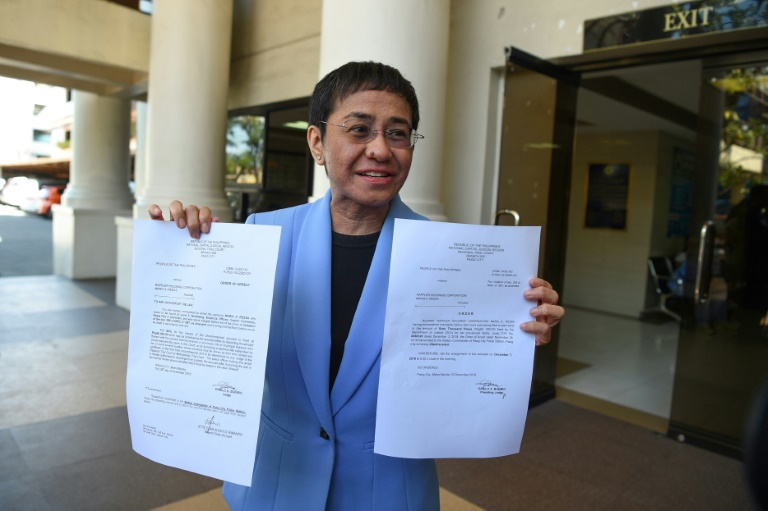 Duterte-critic journalist Ressa convicted in Philippine libel case