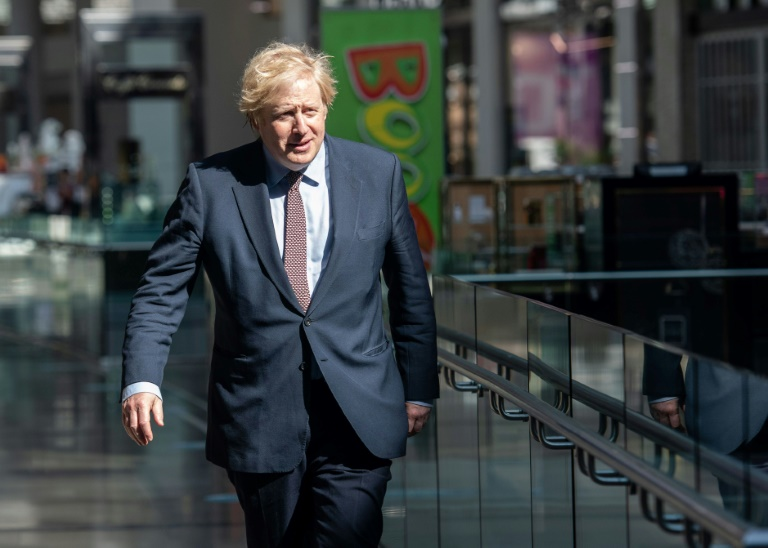 The meeting was first time Boris Johnson has taken part in the talks, which began in March