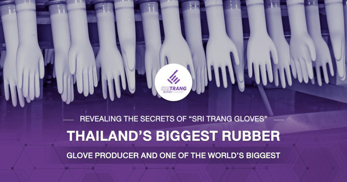 """Revealing the secrets of """"Sri Trang Gloves"""" – Thailand's largest rubber glove producer and one of the world's leader"""