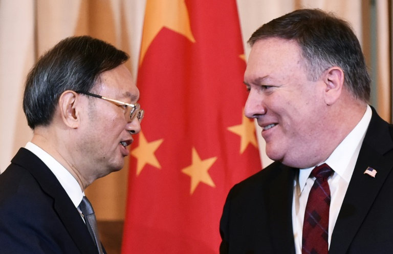 Mike Pompeo meets China's top diplomat in Hawaii