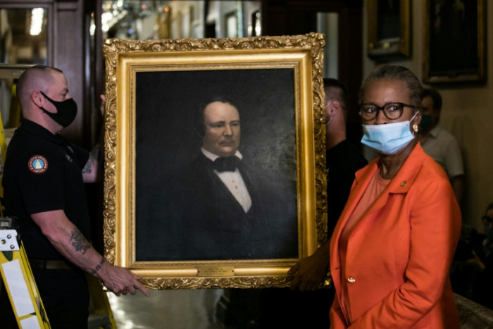 Four Confederate portraits are removed from US Capitol
