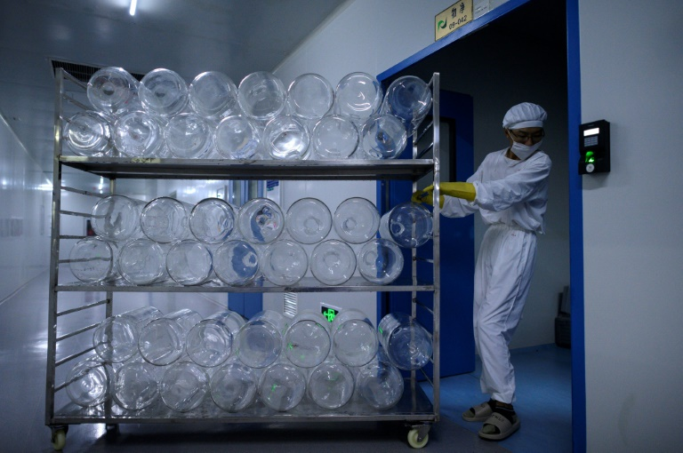 Yisheng Biopharma has converted one of its nine workshops into a Covid19 vaccine production line.