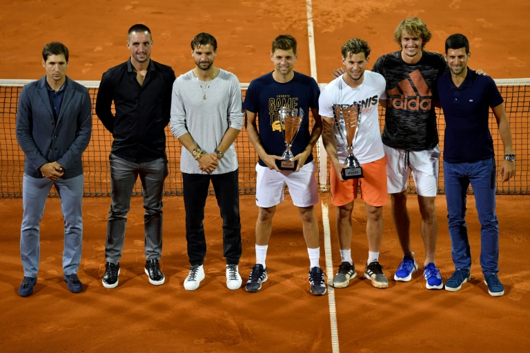 Bulgaria's tennis star Grigor Dimitrov confirms he has Covid-19
