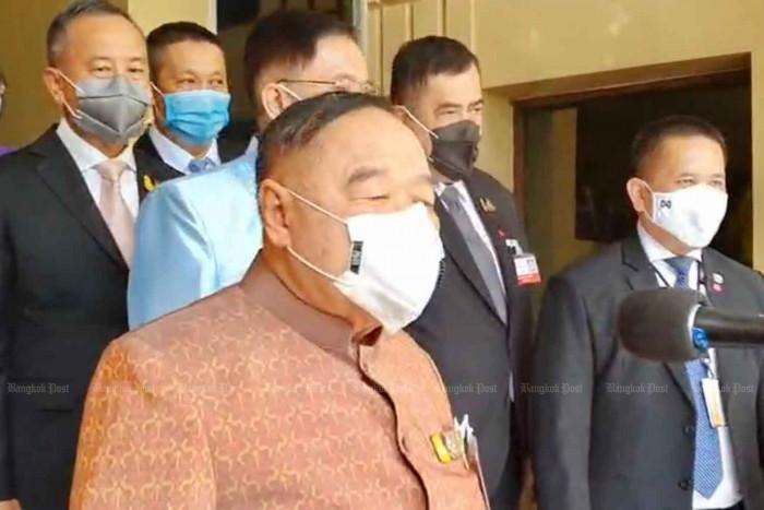 DPM Prawit confirms leadership of PPRP