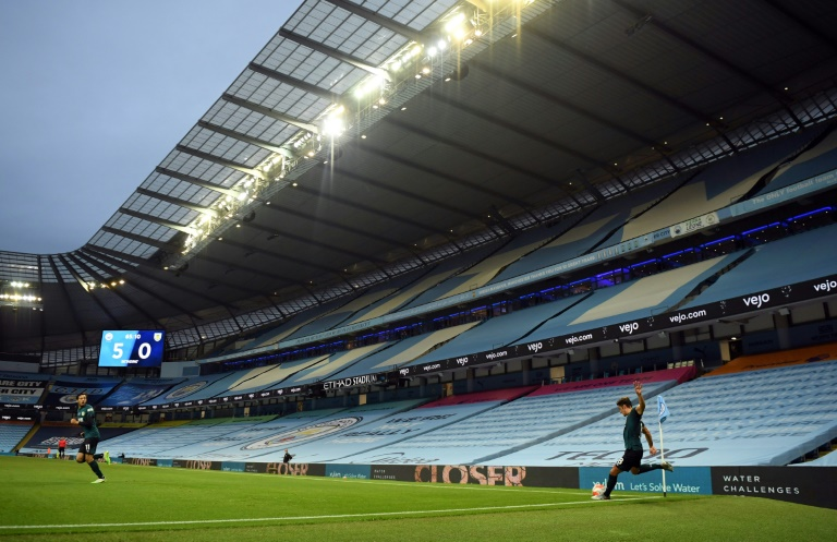 Premier League players have had to get used to empty stadiums.