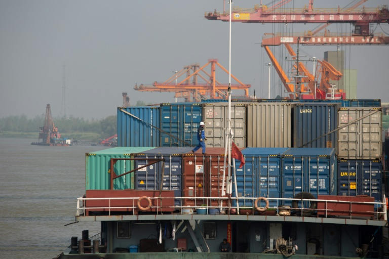 The WTO said the outlook for the global economy over the next two years remained