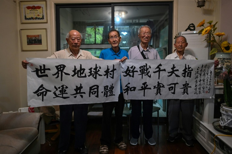 Chinese veterans who fought US troops in the Korean War 70 years ago gather to call for peace as tensions between the two sides mount again.
