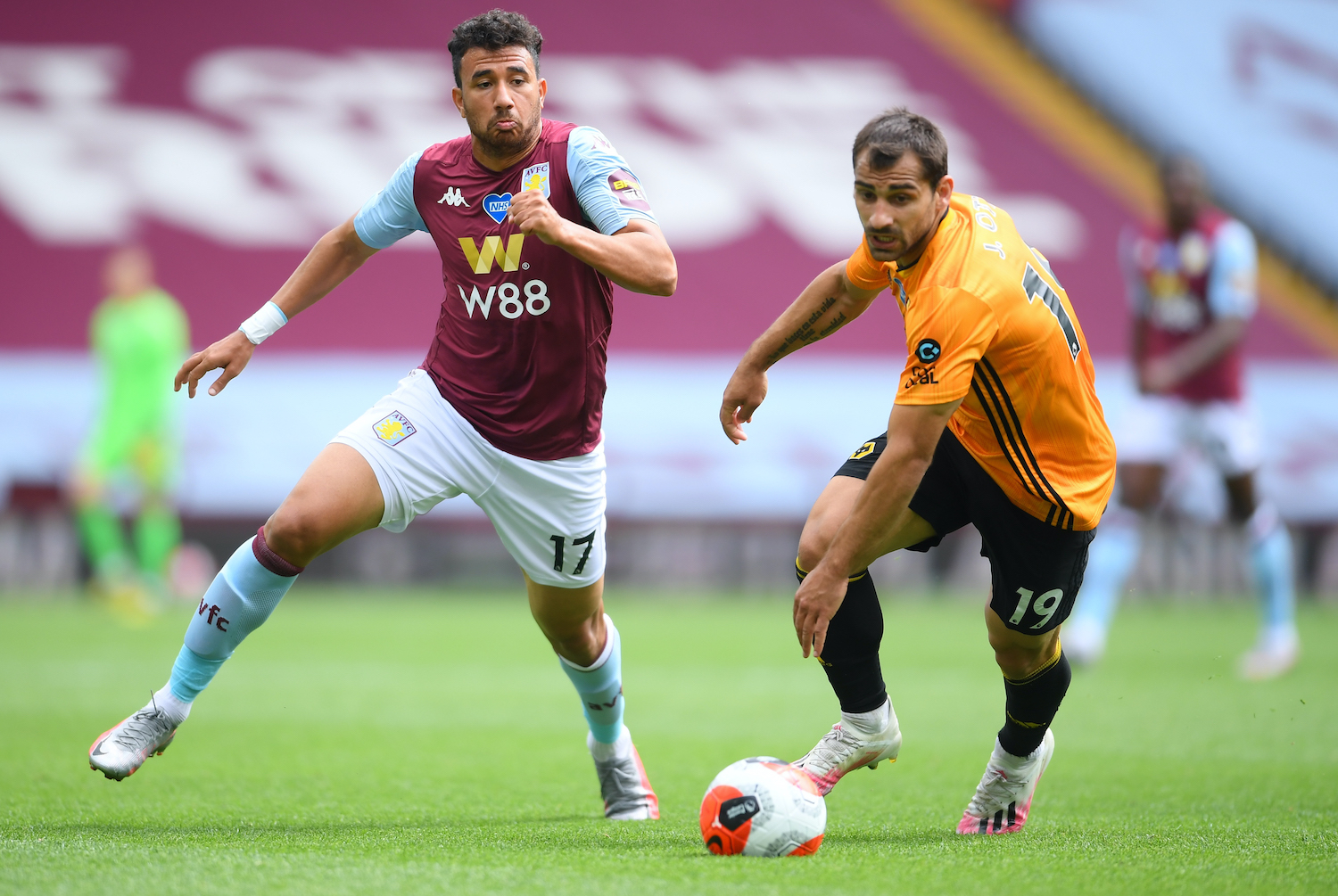 Aston Villa continue relegation battle after loss to Wolves