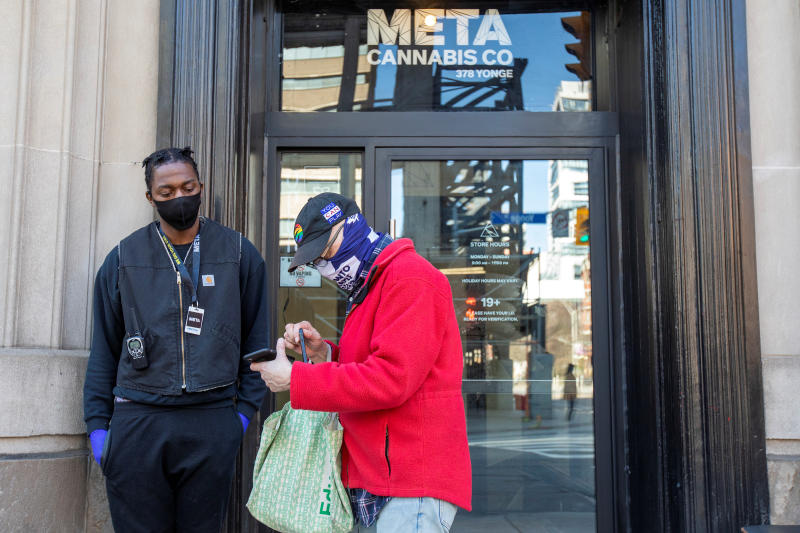 Meta Cannabis store in Toronto, Ontario, Canada April 8, 2020. (Reuters file photo)