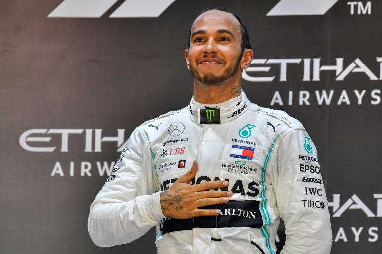 Seven heaven?: Lewis Hamilton is looking to equal Michael Schmacher's record of seven world titles