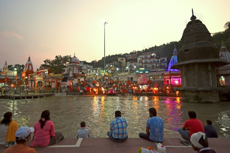 Life is slowly returning to normal among the hallowed temples of Haridwar, one of Hinduism's holiest places.