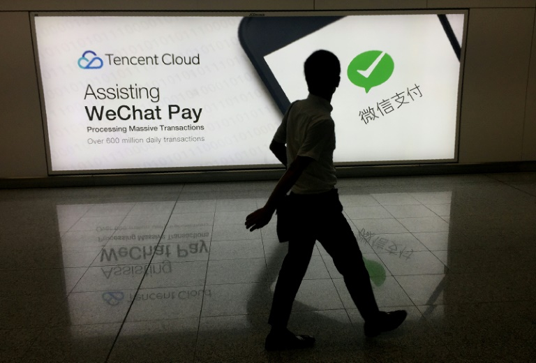 Tencent owns the messaging app WeChat.