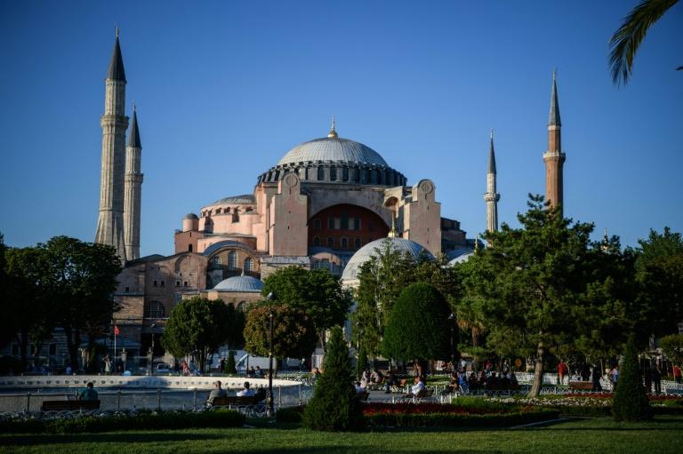 Turkey's Erdogan rejects criticism over Hagia Sophia landmark