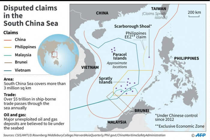 Pentagon: China military exercises will 'further destabilize' S. China Sea