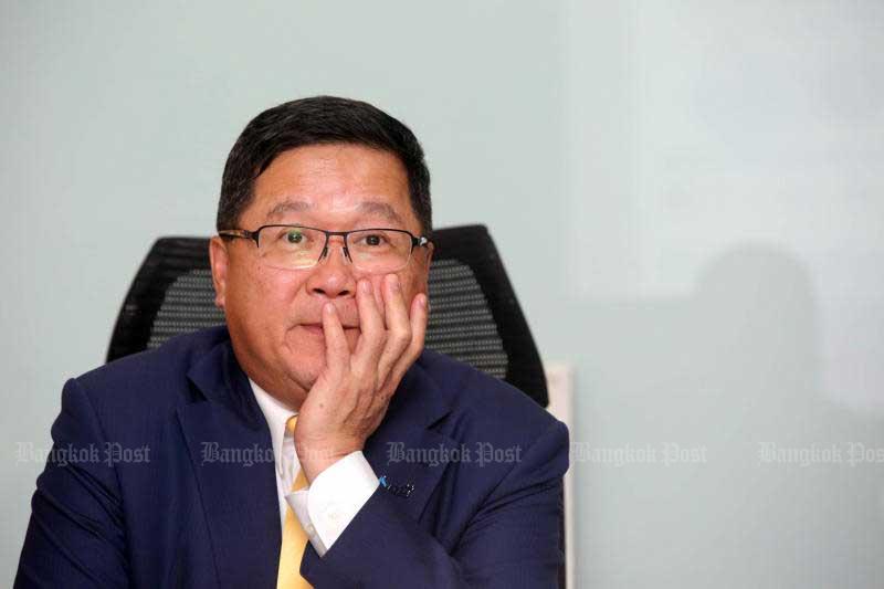 Acting Thai Airways International president Chansin Treenuchagron: