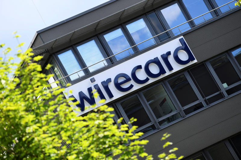 The logo of Wirecard AG, an independent provider of outsourcing and white label solutions for electronic payment transactions, is pictured at its headquarters in Aschheim near Munich, Germany, July 1, 2020. (Reuters file photo)