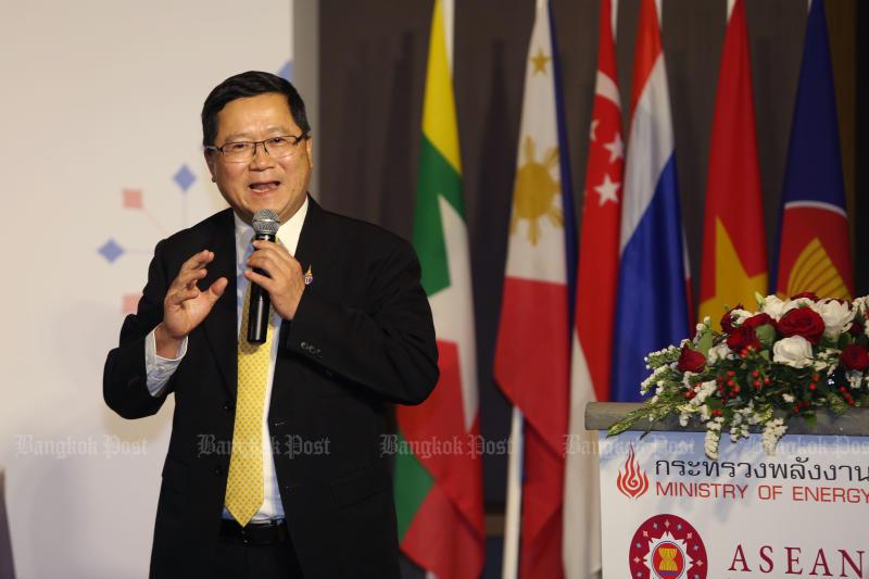 Acting THAI president Chansin Treenuchagron