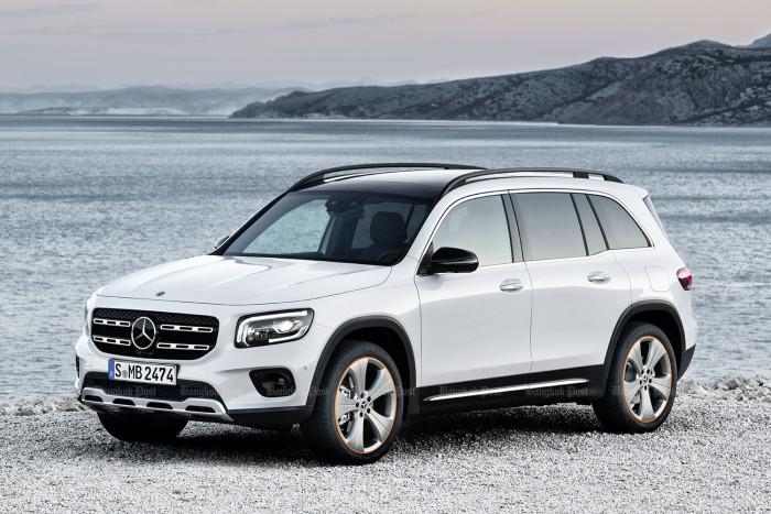 2020 Mercedes-Benz GLB: Thai price and specs