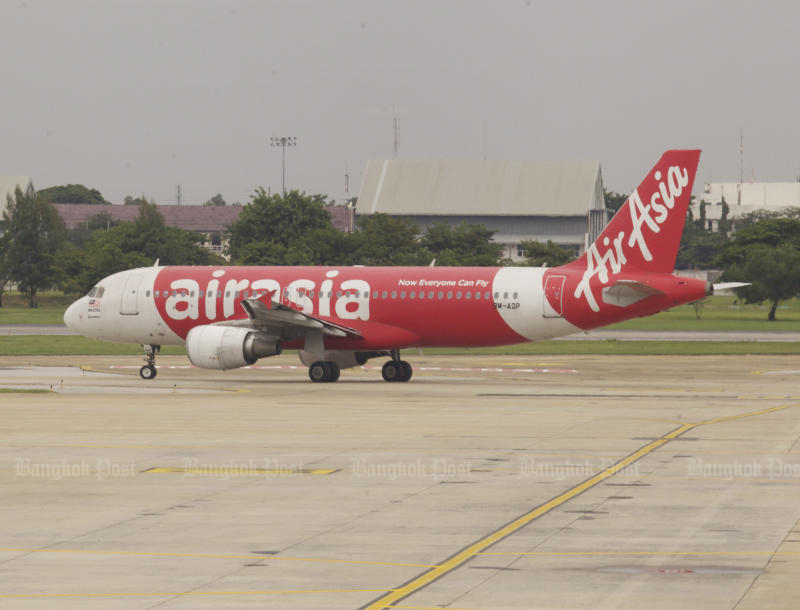 Thai AirAsia is considering making Suvarnabhumi airport its new aviation hub. (Bangkok Post photo)