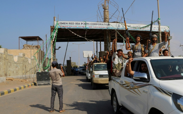 Yemen's port city of Hodeida is controlled by the Iran-backed Huthi rebels.